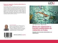 Portada del libro de Dosis por exposición a fuentes ambientales de radiación en Cuba