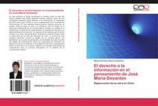 Portada del libro de El derecho a la información en el pensamiento de José María Desantes