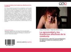 Portada del libro de La agresividad y los trastornos afectivos de la conducta