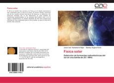 Bookcover of Física solar