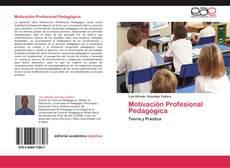 Portada del libro de Motivación Profesional Pedagógica