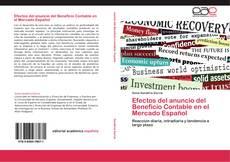 Bookcover of Efectos del anuncio del Beneficio Contable en el Mercado Español