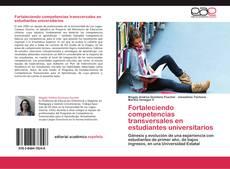 Couverture de Fortaleciendo competencias transversales en estudiantes universitarios