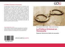 Portada del libro de La Política Criminal en Venezuela