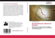Bookcover of El préstamo de valores en España