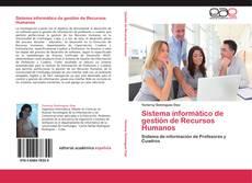 Обложка Sistema informático de gestión de Recursos Humanos