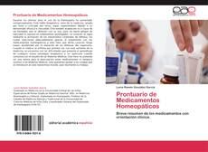 Capa do livro de Prontuario de Medicamentos Homeopáticos