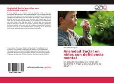 Copertina di Ansiedad Social en niños con deficiencia mental
