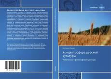 Концептосфера русской культуры kitap kapağı