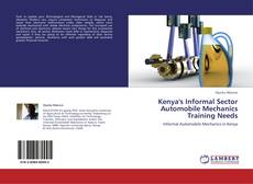 Couverture de Kenya's Informal Sector Automobile Mechanics Training Needs