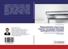 Bookcover of Присвоение классных чинов государственной гражданской службы