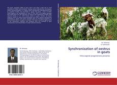 Couverture de Synchronization of oestrus in goats