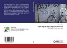 Bookcover of Delinquent gangs in context