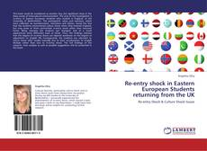 Buchcover von Re-entry shock in Eastern European Students returning from the UK