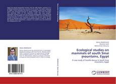 Bookcover of Ecological studies on mammals of south Sinai ٍmountains, Egypt
