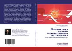 Модернизация системы государственного регулирования kitap kapağı
