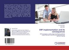 Bookcover of ERP implementation and its consequences