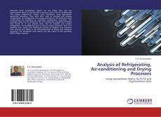 Bookcover of Analysis of Refrigerating, Air-conditioning and Drying Processes