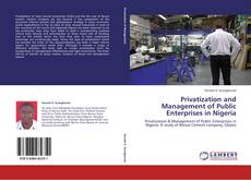 Bookcover of Privatization and Management of Public Enterprises in Nigeria