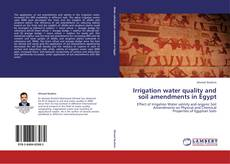 Capa do livro de Irrigation water quality and soil amendments in Egypt