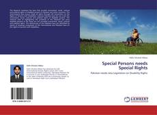 Bookcover of Special Persons needs Special Rights