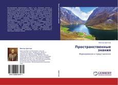 Bookcover of Пространственные знания
