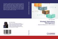 Couverture de Strategic Operations Management