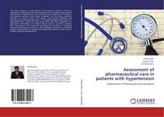 Portada del libro de Assessment of pharmaceutical care in patients with hypertension