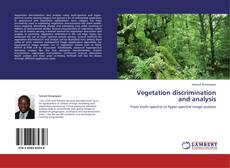 Bookcover of Vegetation discrimination and analysis
