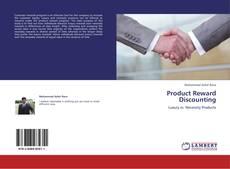Portada del libro de Product Reward Discounting