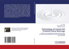 Bookcover of Technology of Cereal-rich Probiotic Dairy Beverage