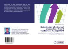 Bookcover of Optimization of microbial process for efficient wastewater management