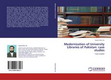 Обложка Modernization of University Libraries of Pakistan: case studies