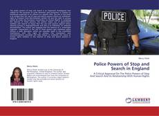 Buchcover von Police Powers of Stop and Search in England