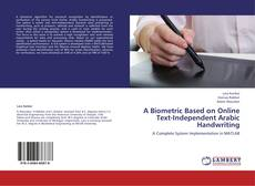 Capa do livro de A Biometric Based on Online Text-Independent Arabic Handwriting