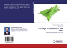 Moringa extract boosts Pea yield kitap kapağı