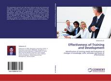 Bookcover of Effectiveness of Training and Development