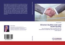 Capa do livro de Director-Auditor Link and Audit Quality