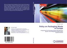 Policy on Packaging Waste in Europe kitap kapağı
