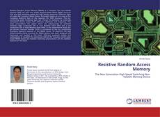 Bookcover of Resistive Random Access Memory