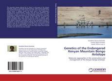 Bookcover of Genetics of the Endangered Kenyan Mountain Bongo Antelope