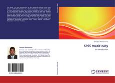 Bookcover of SPSS made easy