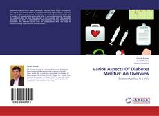 Bookcover of Varios Aspects Of Diabetes Mellitus: An Overview