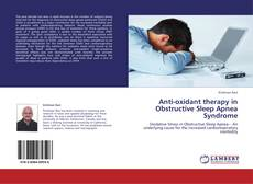 Обложка Anti-oxidant therapy in Obstructive Sleep Apnea Syndrome