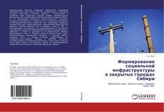 Формирование социальной инфраструктуры  в закрытых городах Сибири的封面