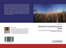 Borítókép a  Study On Crop Research In India - hoz