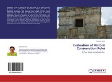 Обложка Evaluation of Historic Conservation Rules
