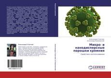 Микро- и нанодисперсные порошки кремния的封面