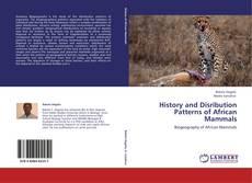 Buchcover von History and Disribution Patterns of African Mammals