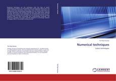 Numerical techniques kitap kapağı